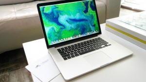 Macbook Pro Retina Display Front