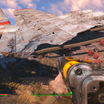 Fallout 4 - Epava avion