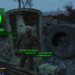 Fallout 4 - Ghoul in frigider