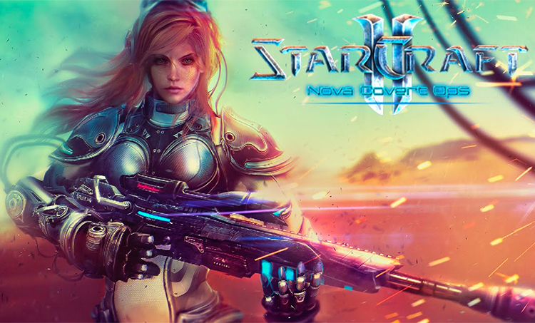 Starcraft 2 - Nova Covert Ops