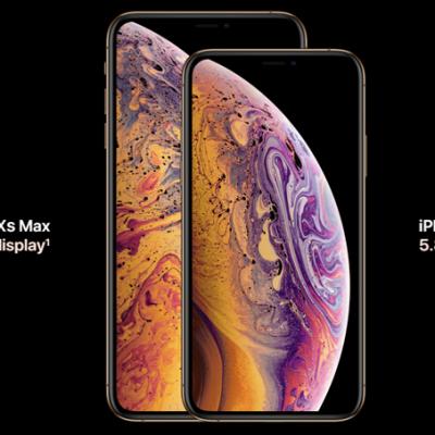iPhone XS si iPhone XS Max