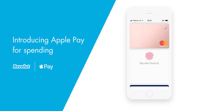 Revolut si Apple Pay
