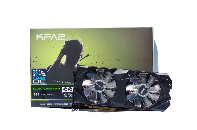 RTX 2060 Super box and card