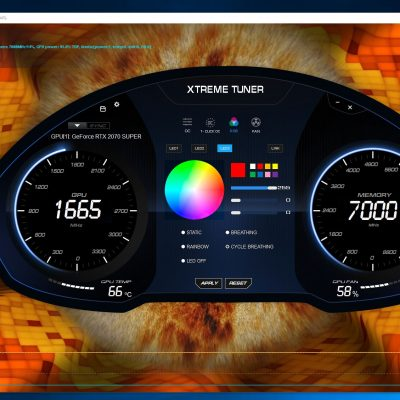 RTX 2070 SUPER load temp